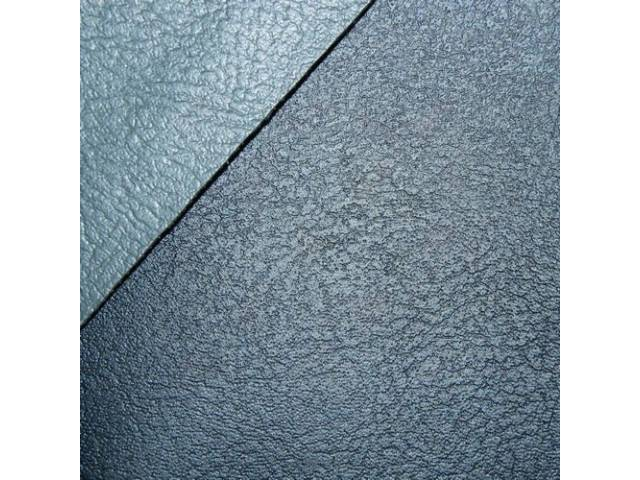 Upholstery Set Rear Seat Two-Tone Blue Madrid Grain
