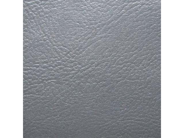 Upholstery Set Rear Seat Slate Madrid Grain Vinyl