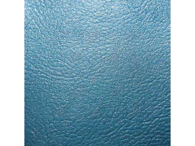 Upholstery Set, Rear Seat, Bright Blue, madrid grain