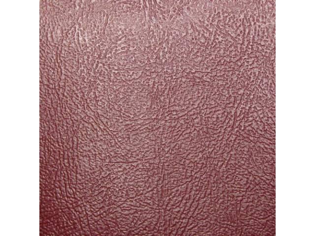 Upholstery Set Rear Seat Bronze Madrid Grain Vinyl