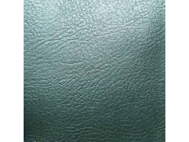 Upholstery Set Rear Seat Aqua Madrid Grain Vinyl