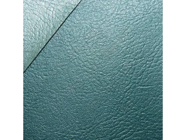 Upholstery Set Rear Seat Two-Tone Aqua Madrid Grain