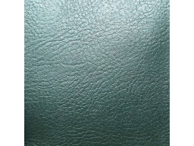Upholstery Set, Rear Seat, Aqua, madrid grain vinyl