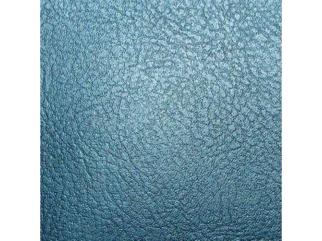 Upholstery Set Rear Seat Light Blue Madrid Grain