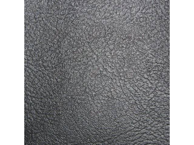 Upholstery Set, Rear Seat, Black, madrid grain vinyl