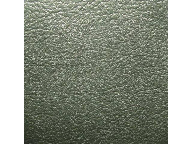 Upholstery Set Rear Seat Dark Green Metallic Madrid