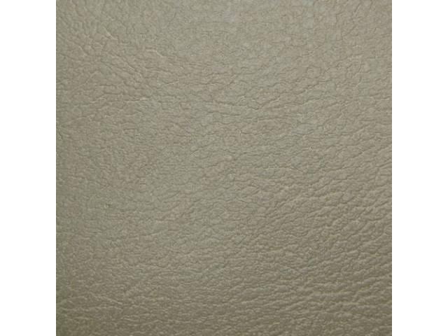 Upholstery Set Rear Seat Parchment Madrid Grain Vinyl