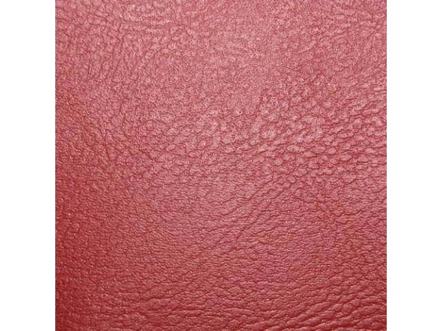 Upholstery Set Rear Seat Red Madrid Grain Vinyl