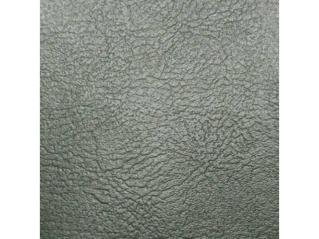 Upholstery Set Rear Seat Dark Green Madrid Grain