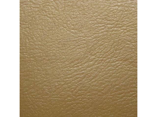 Upholstery Set Rear Seat Tan Madrid Grain Vinyl