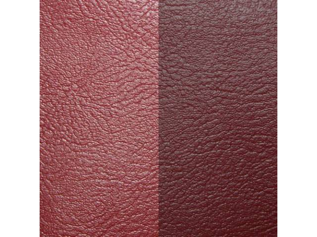 Upholstery Set Premium Rear Seat Dark Red -