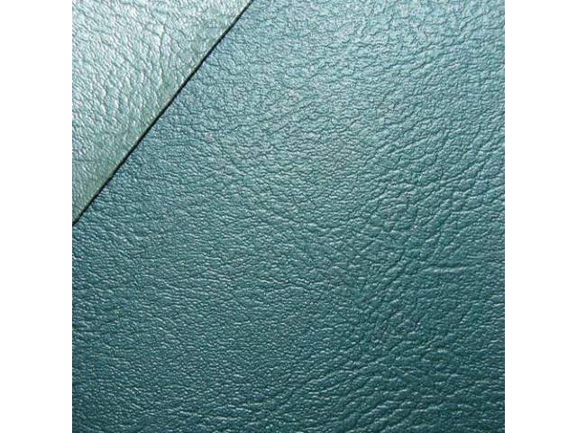 Upholstery Set, Premium, Rear Seat, Dark Aqua -
