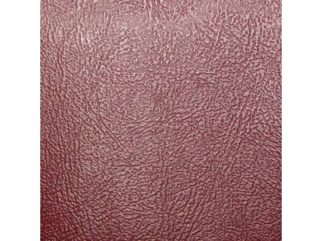 Upholstery Set Premium Rear Seat Bronze Madrid Grain
