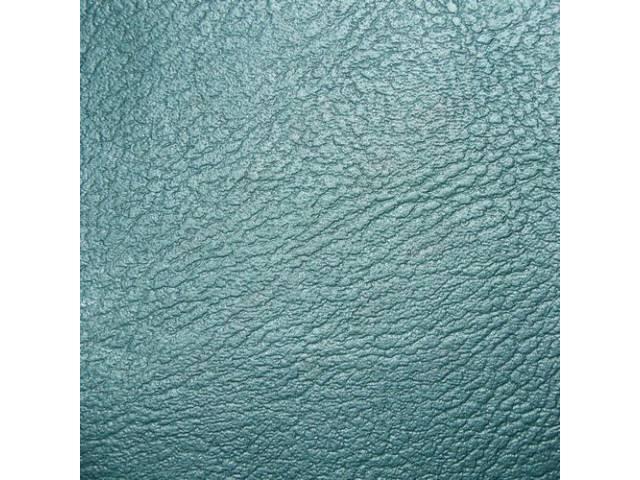 Upholstery Set Premium Rear Seat Metallic Turquoise Std