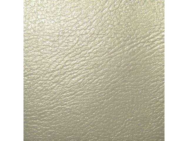 Upholstery Set, Premium, Rear Seat, Metallic Parchment (Std