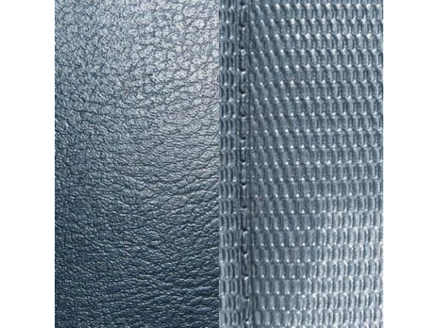 Upholstery Set Premium Rear Seat Metallic Blue Std
