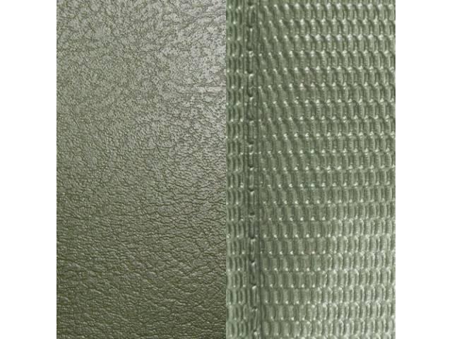 Upholstery Set Premium Rear Seat Light Metallic Green