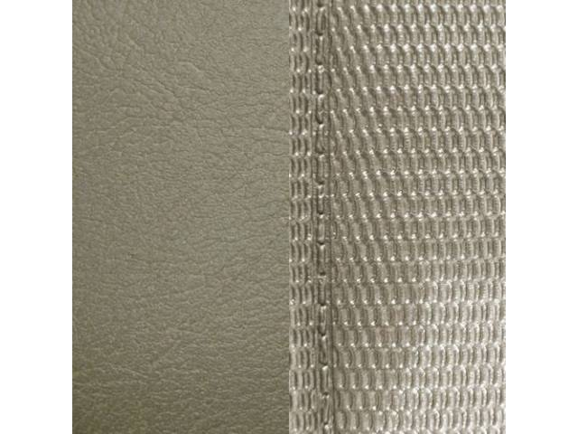 Upholstery Set Premium Rear Seat Metallic Parchment Std