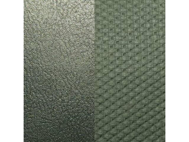 Upholstery Set, Premium, Rear Seat, Metallic Green (Std