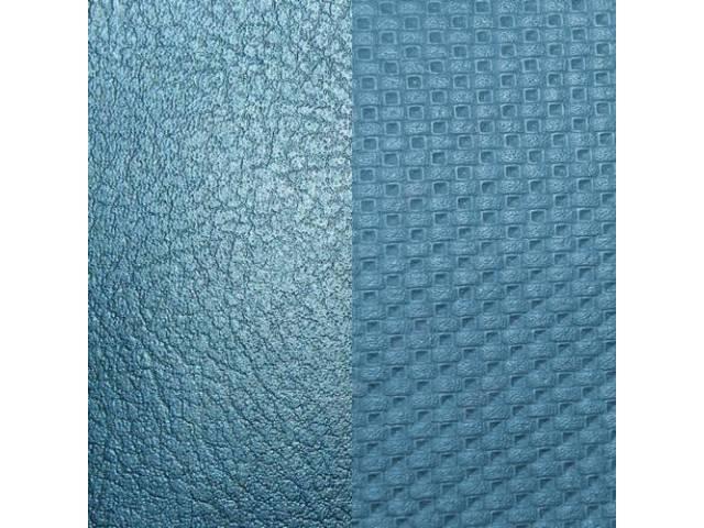 Upholstery Set, Premium, Rear Seat, Metallic Blue (Std