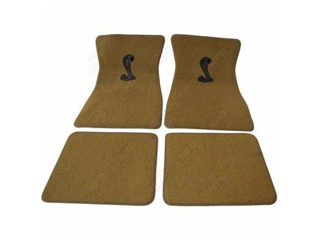 FLOOR MATS CARPET LOOPED NYLON WEAVE LIGHT SADDLE
