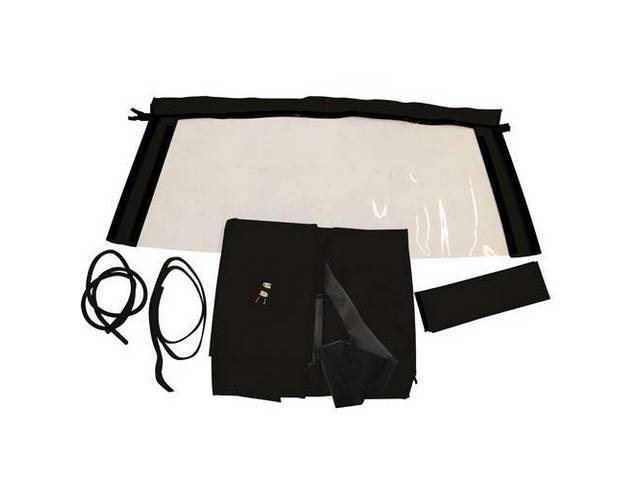 CONVERTIBLE TOP KIT ROBBINS BLACK 36 OUNCE HARRTZ