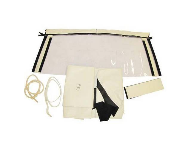 CONVERTIBLE TOP KIT ROBBINS WHITE 36 OUNCE HARRTZ