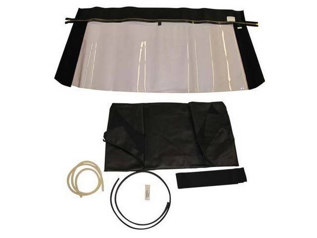 CONVERTIBLE TOP KIT BLACK 36 OUNCE 5 YEAR