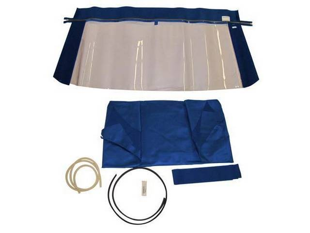 CONVERTIBLE TOP KIT BLUE 36 OUNCE 5 YEAR