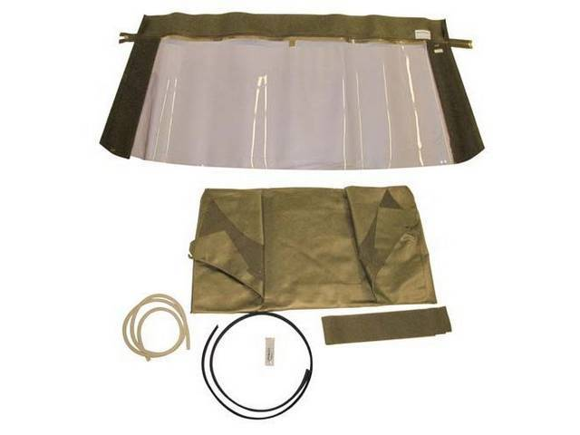 CONVERTIBLE TOP KIT TAN 36 OUNCE 5 YEAR
