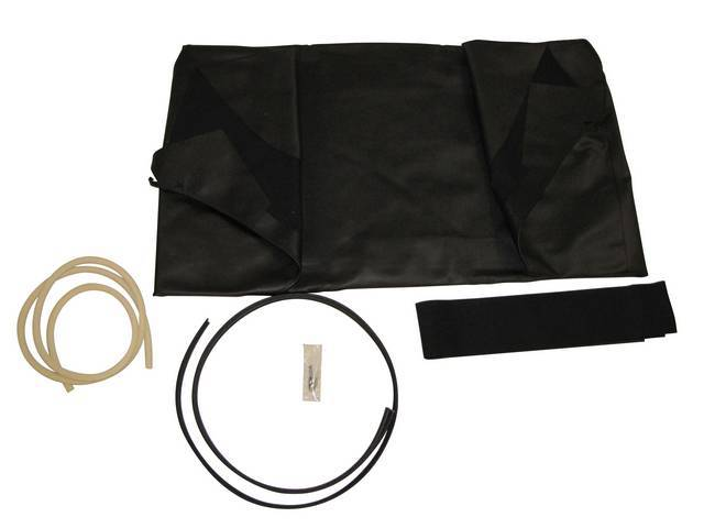 CONVERTIBLE TOP ONLY, ROBBINS, BLACK