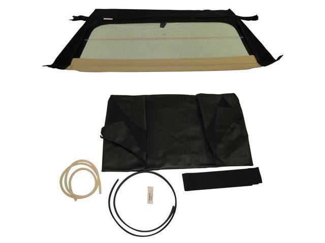 CONVERTIBLE TOP KIT, BLACK