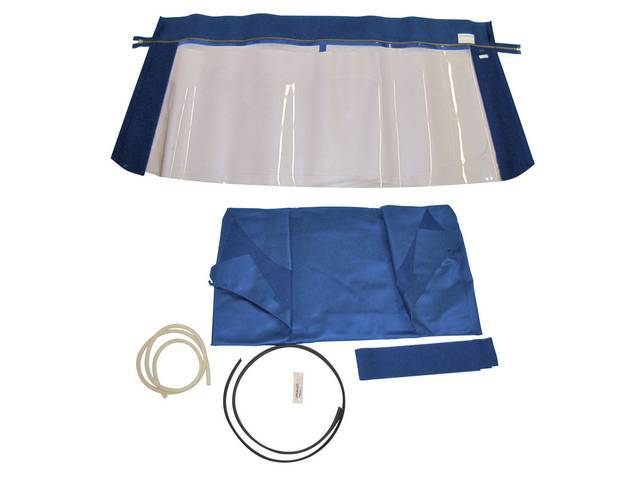 CONVERTIBLE TOP KIT, BLUE, 36 OUNCE, 5 YEAR