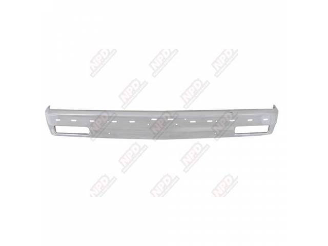 BUMPER / FRONT CHROMEOME 82-90 W / STRIP