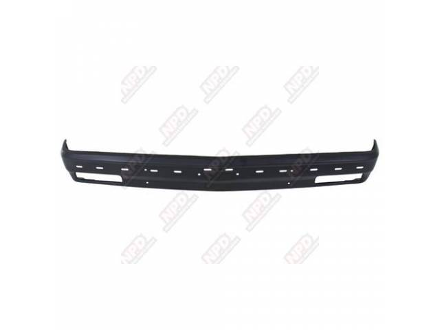 BUMPER / FRONT PAINTED 82-90 W / STRIP