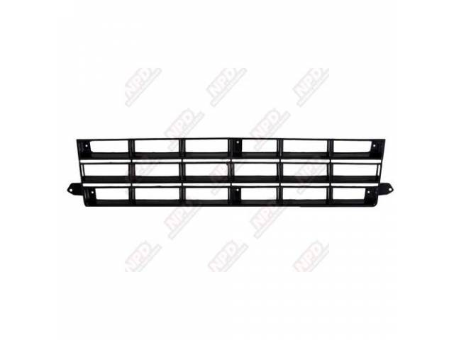 GRILLE GLOSS BLACK 82-90