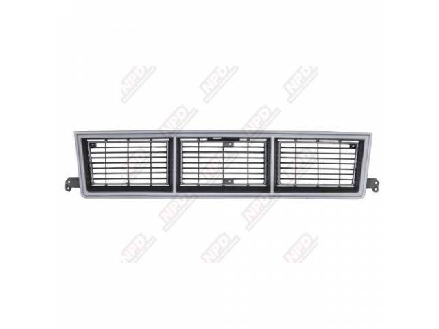 GRILLE / GL / BLK GMC 83-90