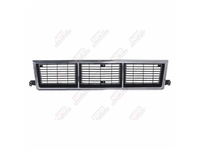 GRILLE / CHROME GMC 83-90