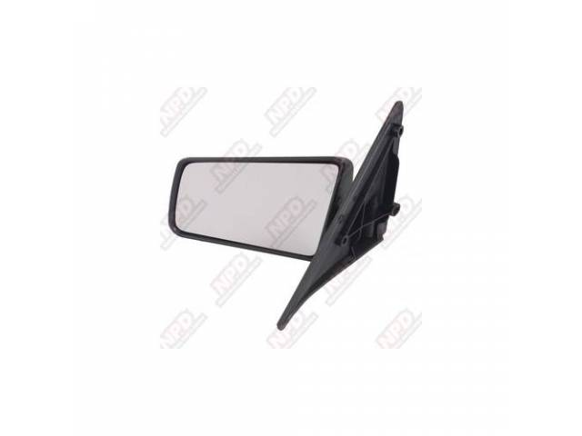 SIDE MIRROR / LH 85-93 STANDARD COARSE FINISH