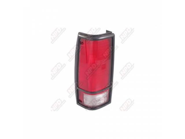TAIL LAMP /LEFT BLAZER 83-94 W / BLACK