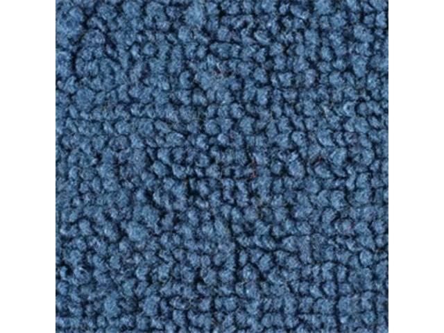 CARPET, DELUXE DOOR PANEL, FORD BLUE