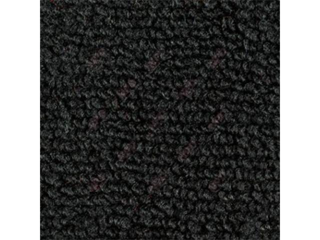 CARPET Deluxe Door Panel raylon weave black matches