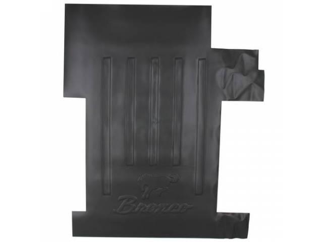 SHOWBEDDER Bed Floor Cover Bronco Horse logo high
