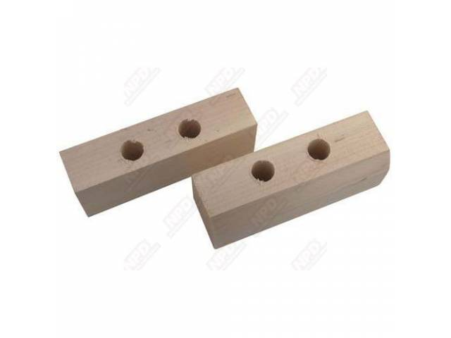 SPACER BLOCK BED CROSSMEMBER AT 3 CROSS SILL