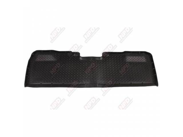 HUSKY LINER REAR SEAT FLOOR MAT TRAY BLACK