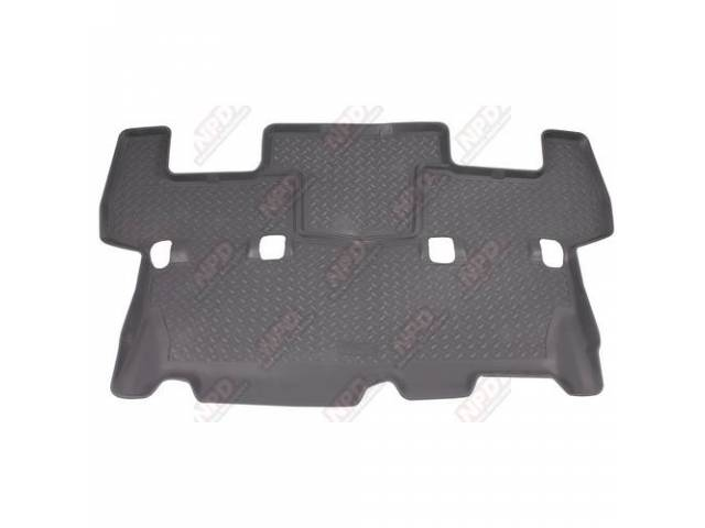 HUSKY LINER REAR SEAT FLOOR MAT TRAY GRAY