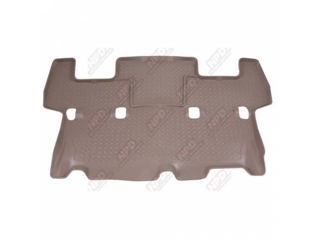 HUSKY LINER REAR SEAT FLOOR MAT TRAY TAN