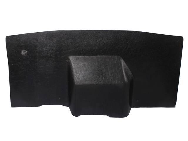 COVER, FIREWALL UNDER DASH, ABS-PLASTIC W/ INSULATION AND