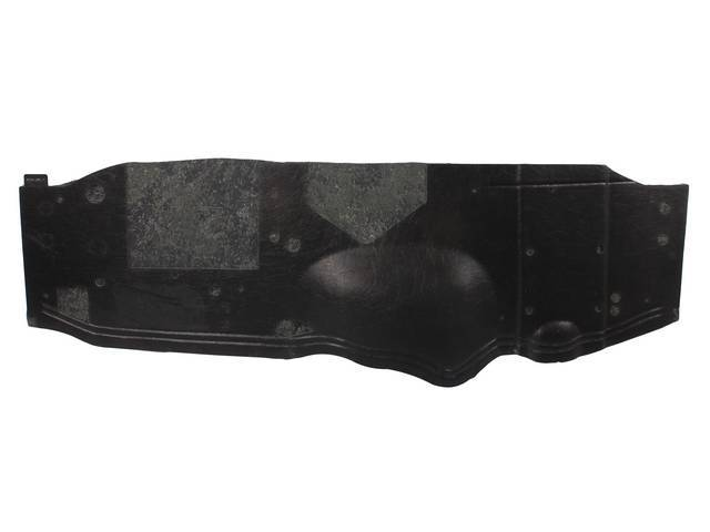 COVER, FIREWALL UNDER DASH, ABS-PLASTIC, W/ INSULATION AND
