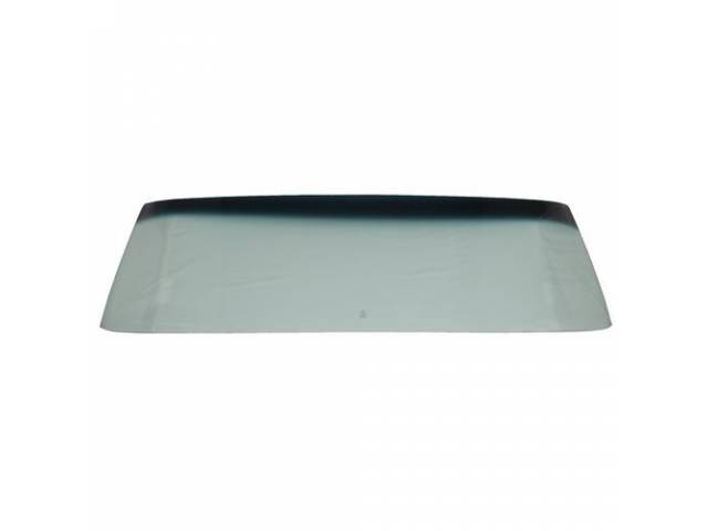 GLASS FRONT WINDSHIELD TINTED